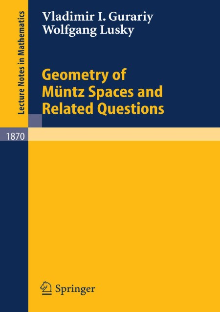 Geometry of Muntz Spaces and Related Questions