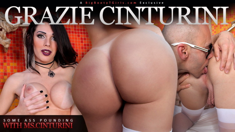 Grazi Cinturinha - Some Ass Pounding with Ms.Cinturini (Trans500/HD) - Flashbit