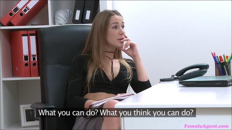 Alexis Crystal aka Anouk - Tight Wet Pussy Empties Studs Balls (2021/FemaleAgent/FakeHub) [FullHD/1080p/ 1.10 GB]