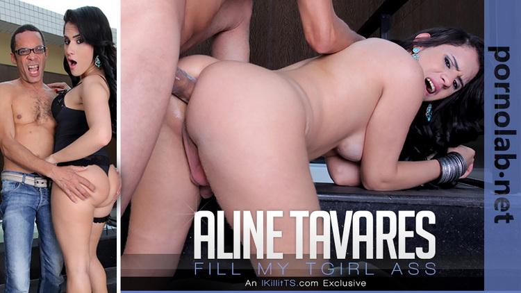 Aline Tavares, Ramon. - Fill my TGirl Ass (Trans500/FullHD) - Flashbit