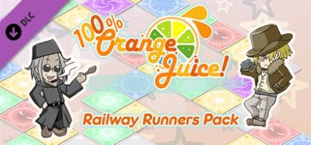 100 Percent Orange Juice Railway Runners Pack-PLAZA
