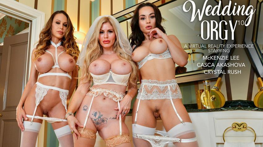 NaughtyAmerica.com, NaughtyWeddings.com - Casca Akashova, Crystal Rush, McKenzie Lee