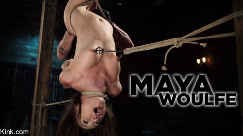 HogTied.com, Kink.com - Maya Woulfe