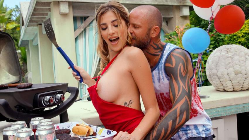 Brazzers.com / BrazzersExxtra.com: Sucking His BBQock (Azul Hermosa), Big Tits [FullHD 1080p]