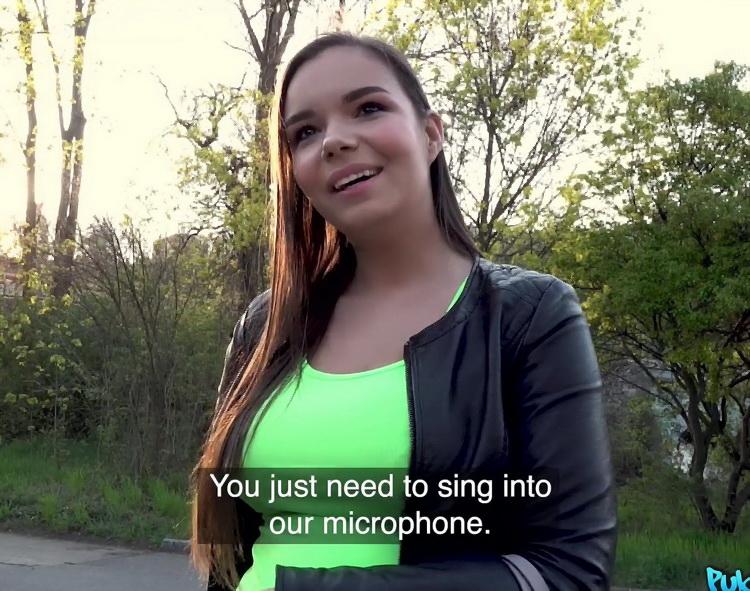 Sofia Lee - Train track blowjob and fuck [PublicAgent/FakeHub] FullHD 1080p