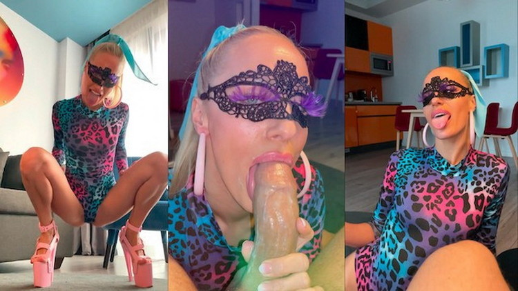 Saliva Bunny ~ The woman. The myth. The legend. Dancing and gagging like no one is watching ~ OnlyFans ~ UltraHD 4K 2160p