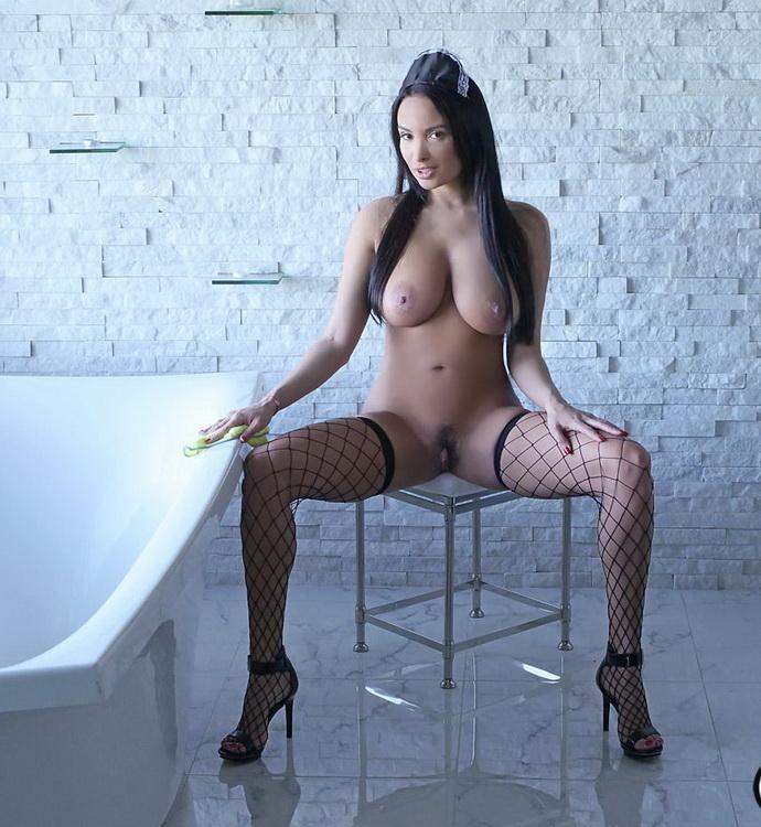 Anissa Kate - Anal Loving French Maid (HD 720p) - BigTitsCreamPie/BangBros - [2021]