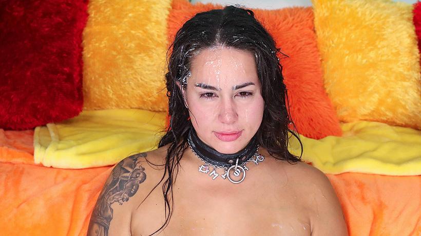 AdultDoorway.com / FacialAbuse.com: Slapped Happy (Facial Abuse), Threesome [FullHD 1080p]
