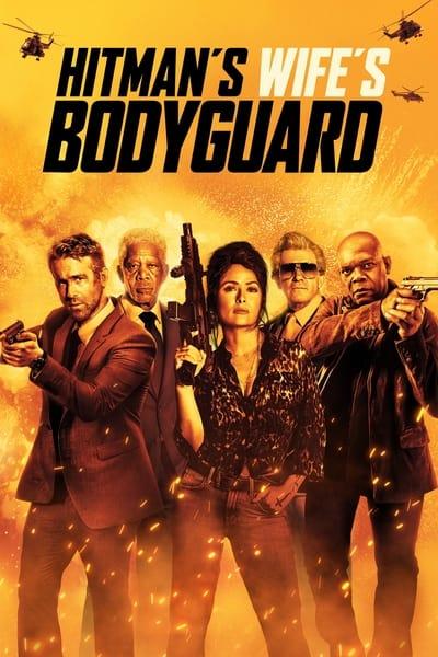 The Hitmans Wifes Bodyguard 2021 720p WEBRip 800MB x264-GalaxyRG