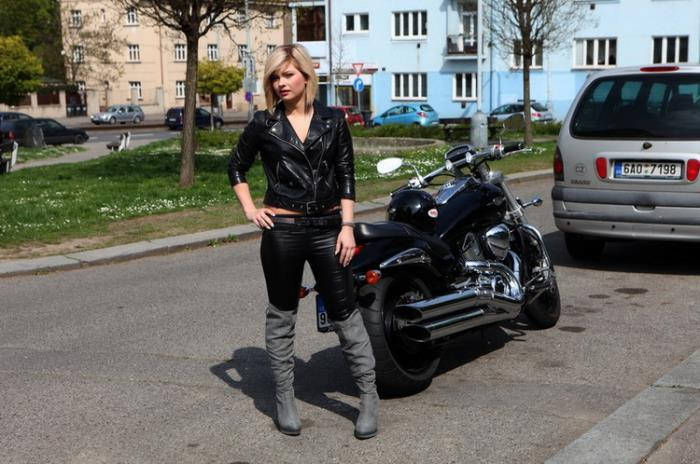 Angela - Angel biker (2021 PornstarFisher.com CumLouder.com) [HD   720p  1.34 Gb]