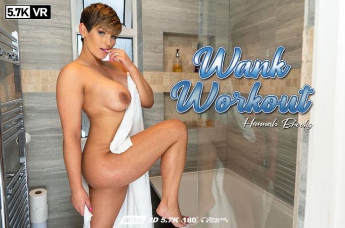 WankItNowVR.com: Wank Workout Starring: Hannah Brooks