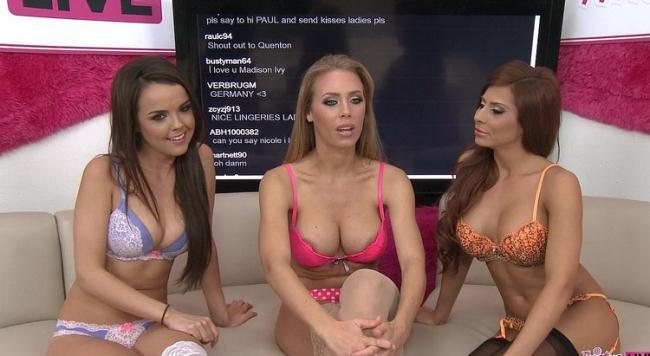 Twistys.com - Madison Ivy, Nicole Aniston, Dillion Harper