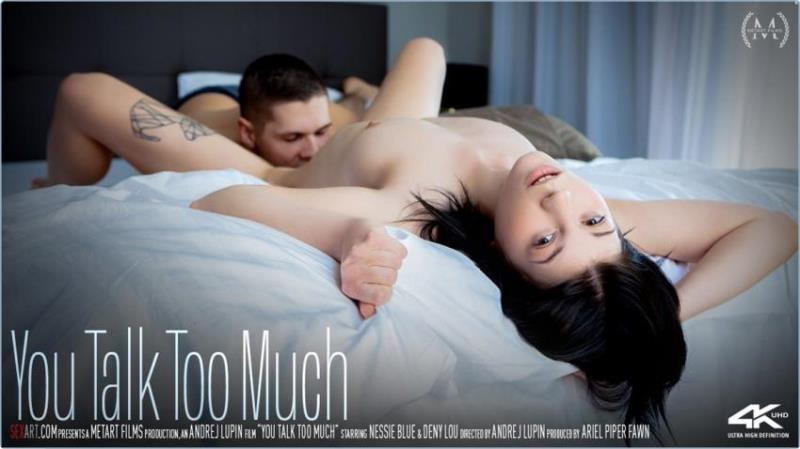 SexArt.com: Nessie Blue - You Talk Too Much [SD 360p] (261.26 Mb)